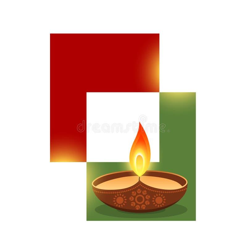 Projeto à moda do diwali ilustração royalty free