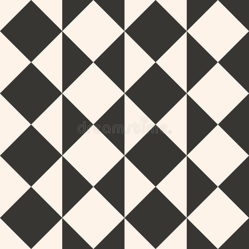 Projeto étnico geométrico simples do teste padrão para o fundo ou o papel de parede ilustração do vetor