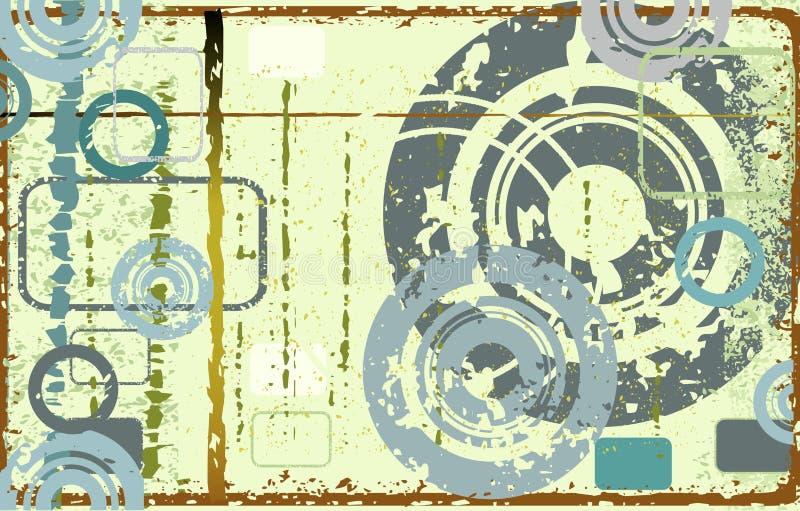 Projeto abstrato ilustração do vetor