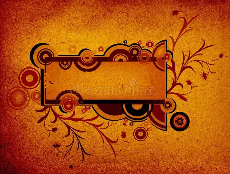 Projeto abstrato ilustração royalty free