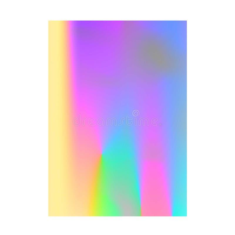 Download Projeto Abstrato Da Disposição Da Cor Do Borrão Ilustração do Vetor - Ilustração de moderno, íris: 80101744