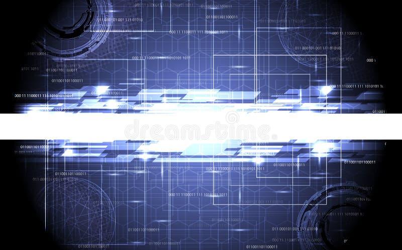 Projeto abstrato da tecnologia ilustração stock