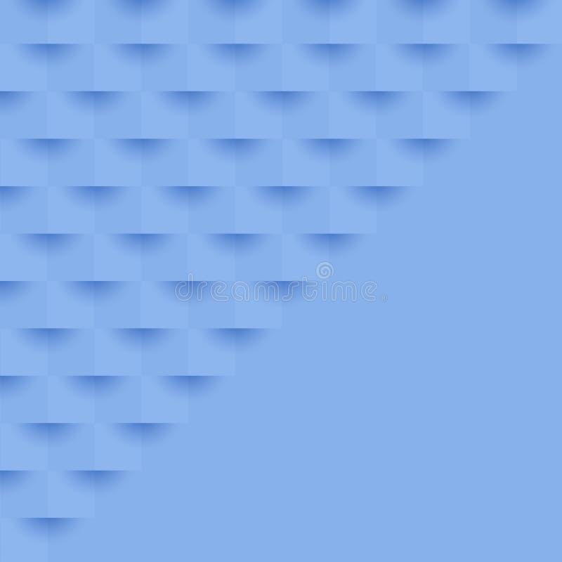 Projeto abstrato do cubo ilustração do vetor