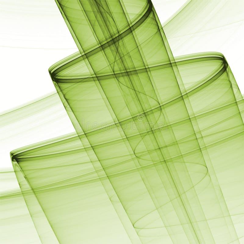 Projeto abstrato do fractal ilustração do vetor