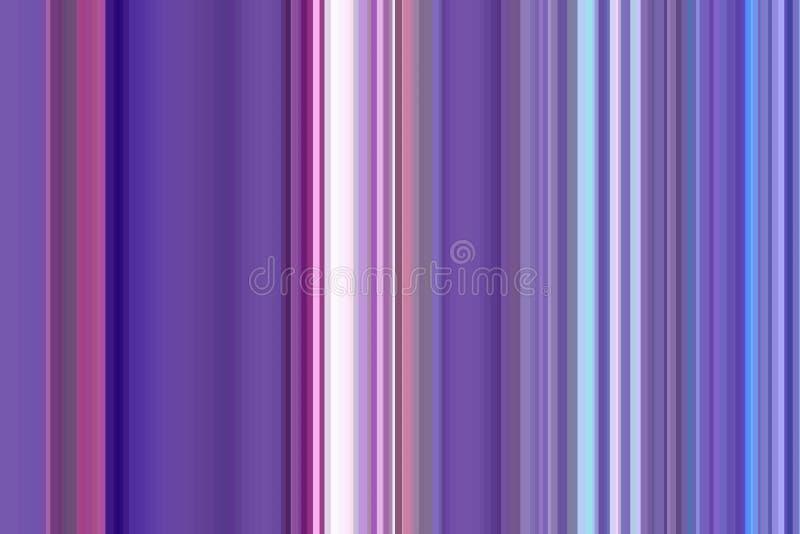 Projeto abstrato do fundo roxo da listra Luz brilhante ilustração do vetor