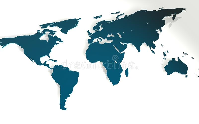 Projeto abstrato do globo do mundo fotografia de stock royalty free
