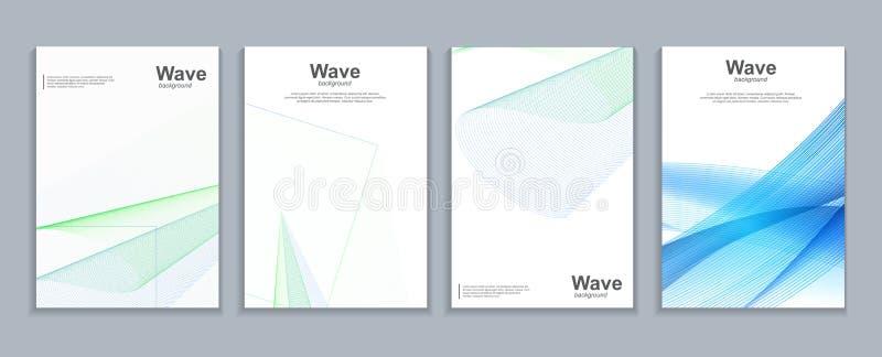 Projeto abstrato do molde das malhas 3d das tampas mínimas simples Teste padrão geométrico futuro Ilustração do vetor ilustração do vetor