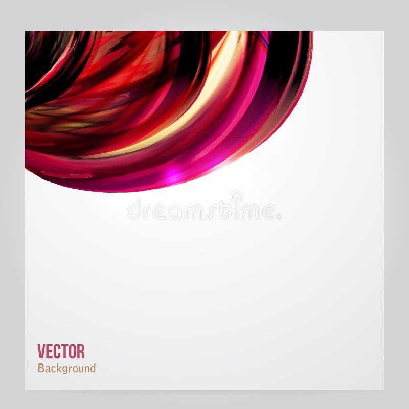 Projeto abstrato incorporado do vetor do negócio ilustração stock