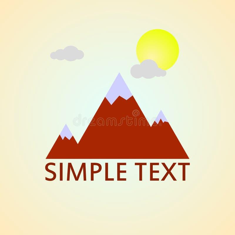 Projeto abstrato moderno do logotipo ou do elemento ilustração royalty free