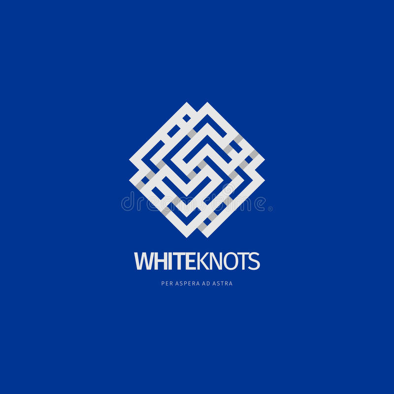 Projeto abstrato moderno do logotipo ou do elemento Melhor para a identidade e os logotypes imagens de stock royalty free