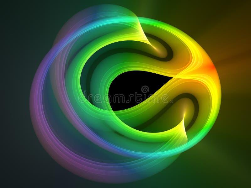 Projeto abstrato Multicolor ilustração royalty free