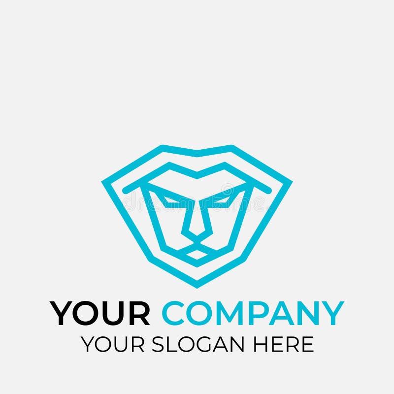 projeto animal do logotipo ilustração do vetor