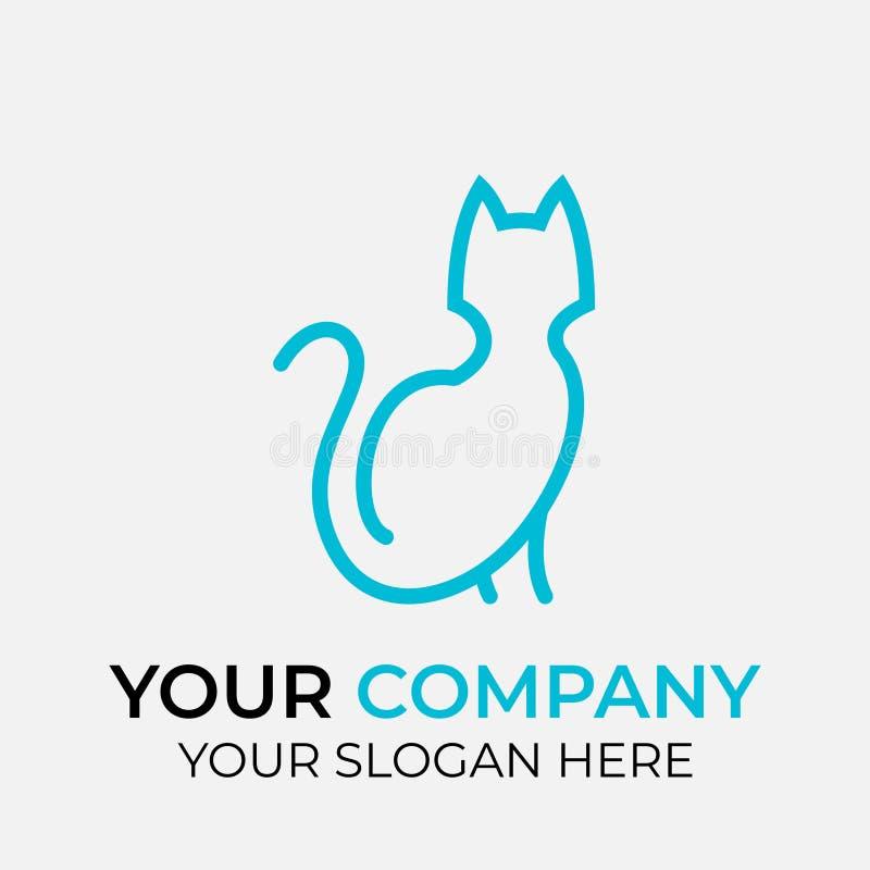 projeto animal do logotipo ilustração royalty free