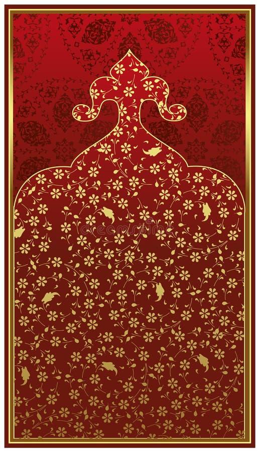 Projeto antigo do ouro do otomano fotos de stock royalty free