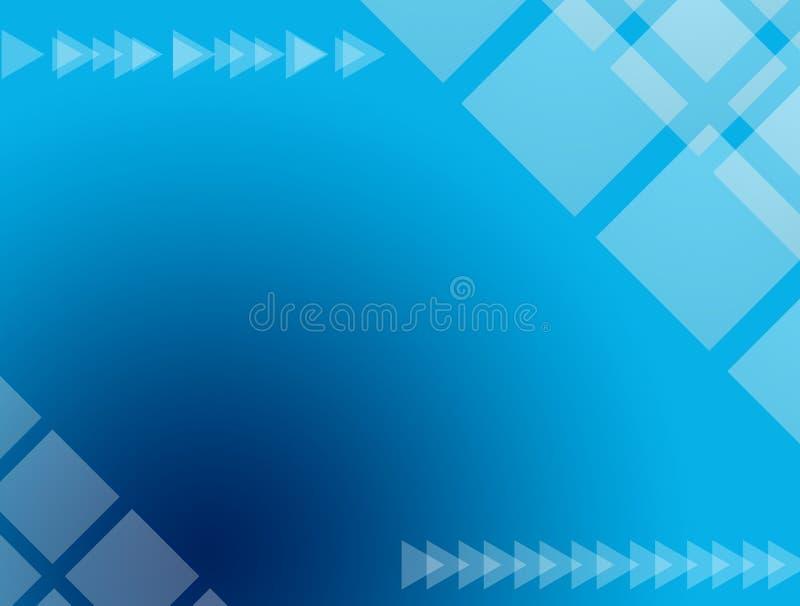 Projeto azul ilustração stock