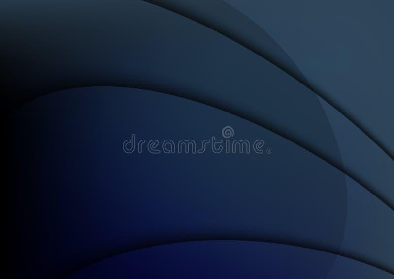Projeto azul do fundo do vetor ilustração do vetor