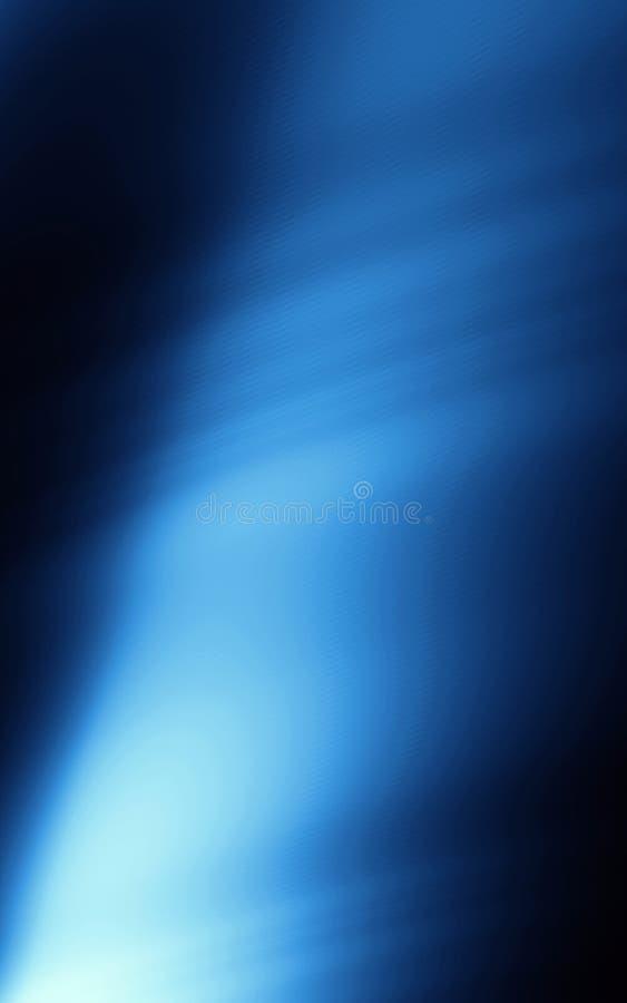 Projeto azul do molde do poder do fluxo do fundo ilustração stock
