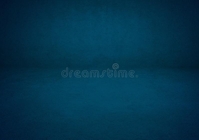 Projeto azul do papel de parede do fundo do inclinação imagens de stock