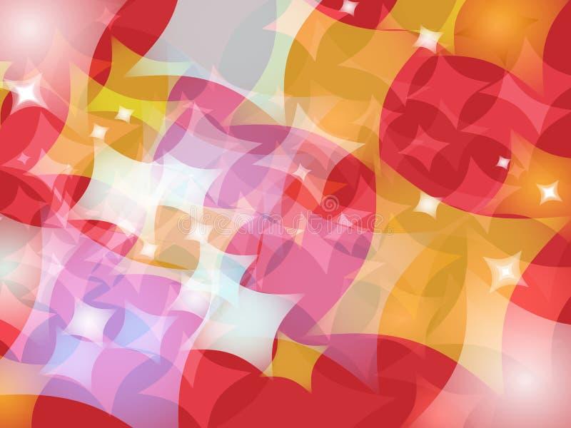 Projeto colorido abstrato do fundo ilustração royalty free