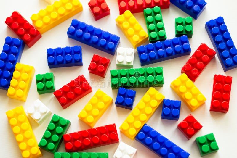 Projeto colorido do ` s das crianças para um jogo fotografia de stock