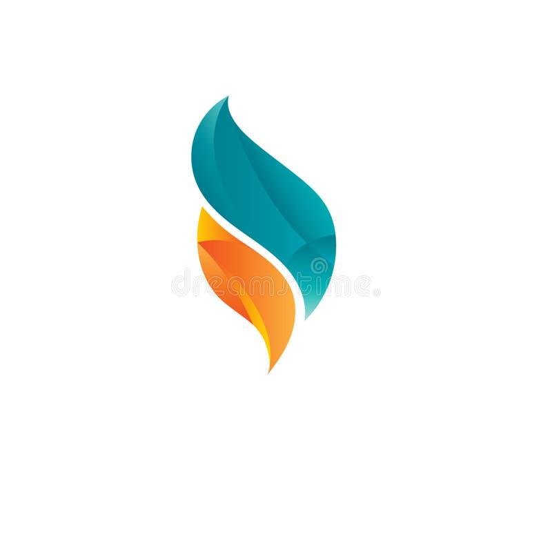 Projeto criativo do logotipo ilustração do vetor