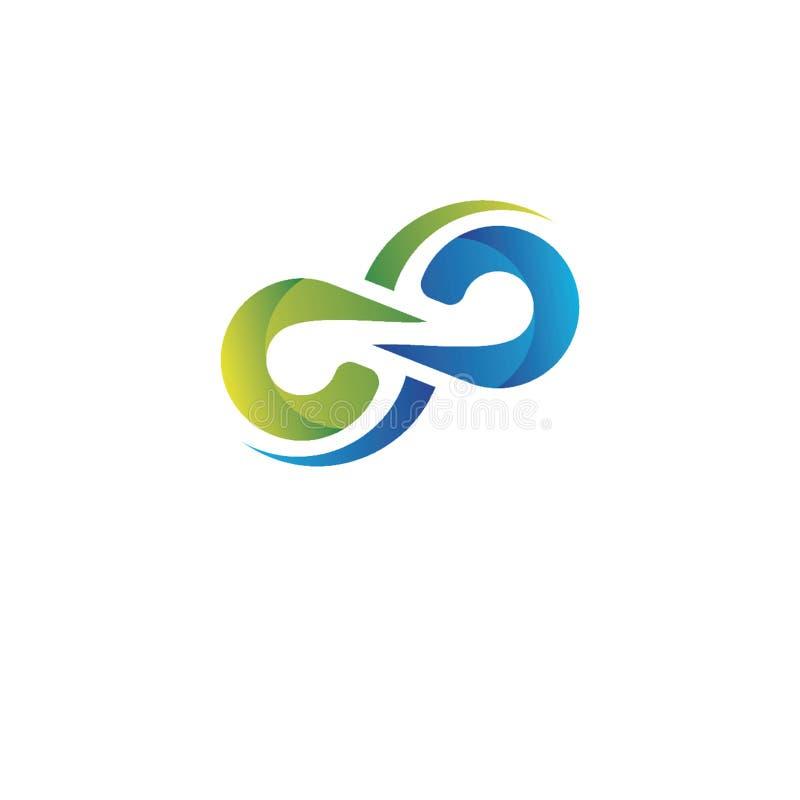 Projeto criativo do logotipo ilustração stock