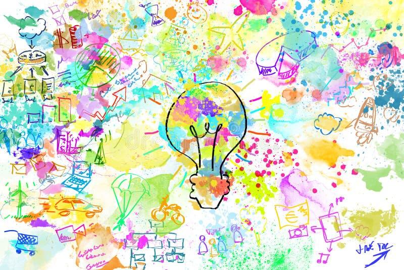 Projeto criativo do negócio imagens de stock royalty free