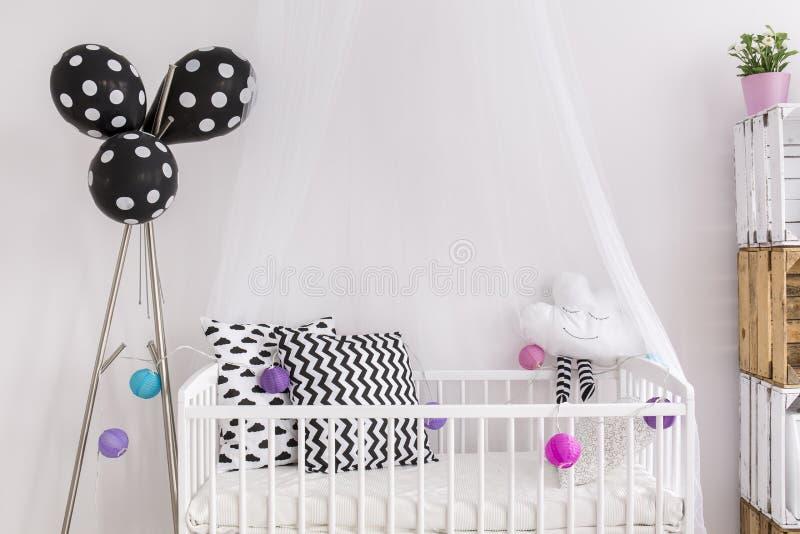 Projeto criativo do quarto da criança foto de stock royalty free