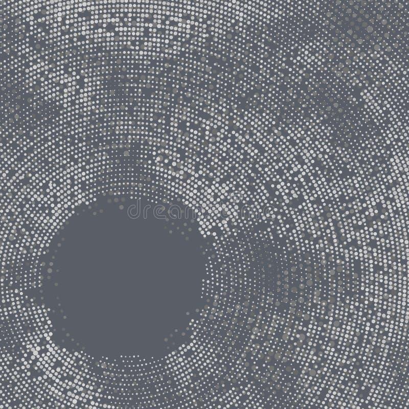 Projeto criativo dos círculos da arte abstracta. + EPS8 ilustração do vetor