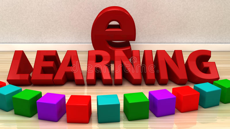 Download Ensino electrónico ilustração stock. Ilustração de clique - 29830748