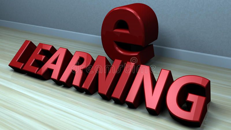 Download Ensino electrónico ilustração stock. Ilustração de chave - 29830760