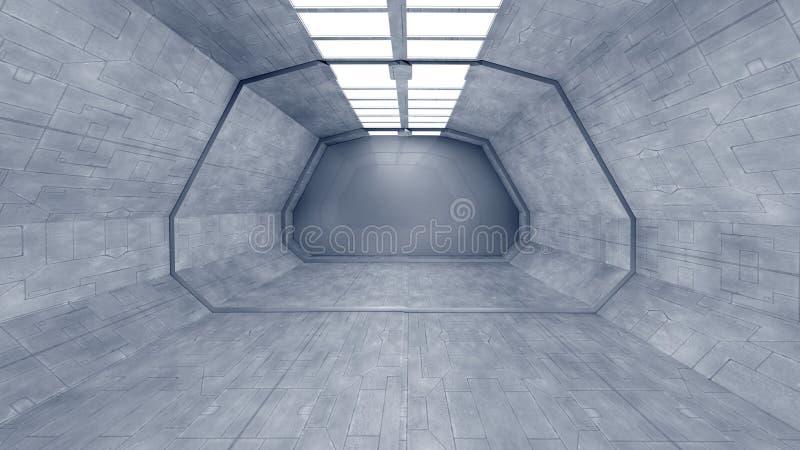 Download Interior futurista ilustração stock. Ilustração de paciente - 29830476
