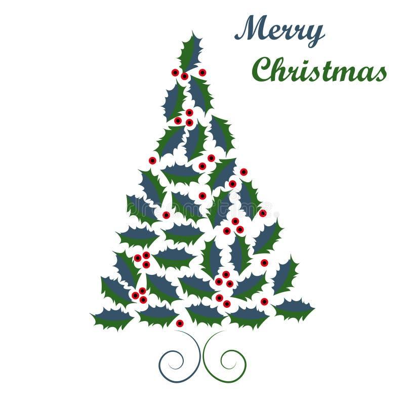 Projeto da árvore de Natal fotos de stock