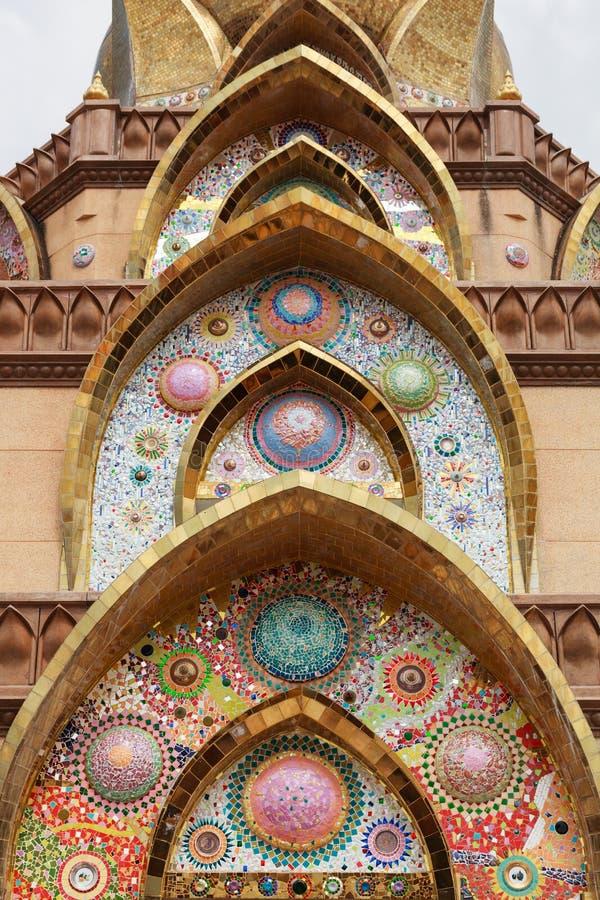 Projeto da arte com telha vitrificada imagem de stock royalty free
