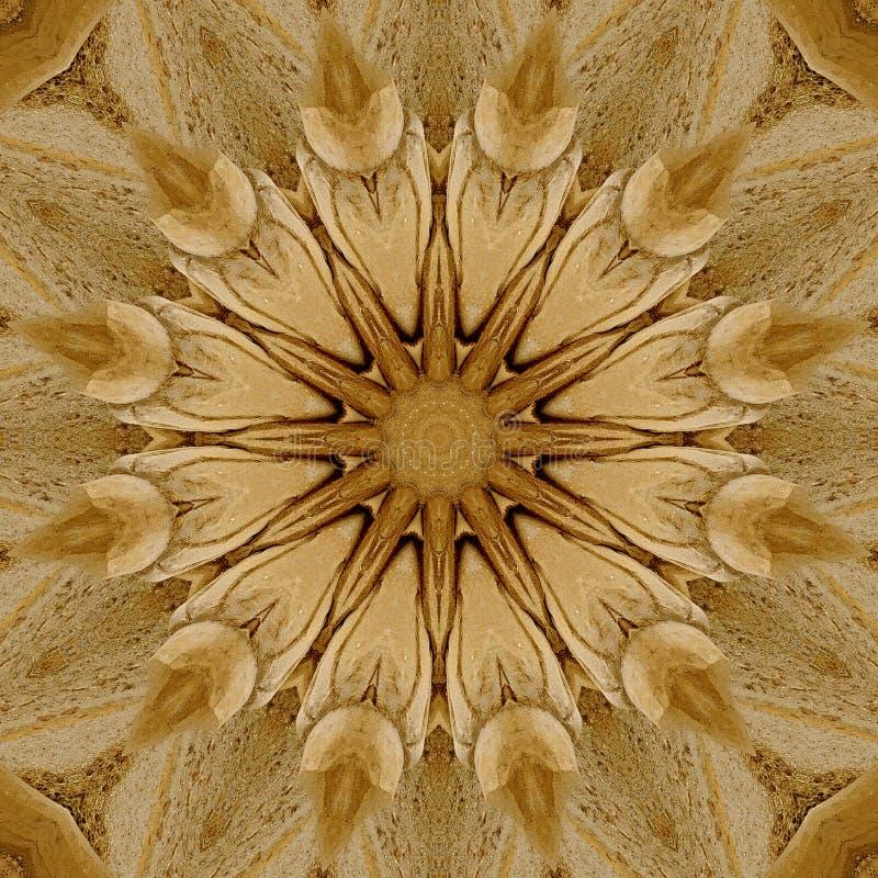 Projeto da arte de Digitas, teste padrão feito com construção da areia ilustração royalty free