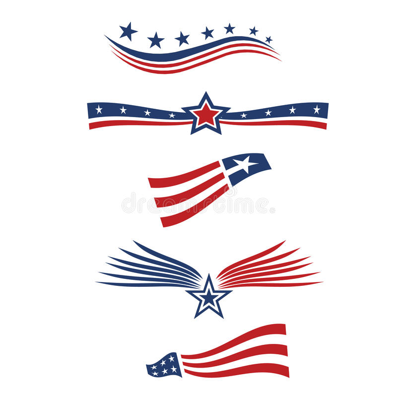 Projeto da bandeira da estrela dos EUA