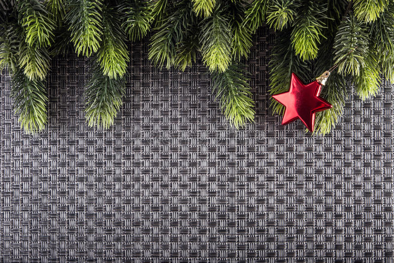 Projeto da beira do Natal Papai Noel em um sledge ilustração do vetor