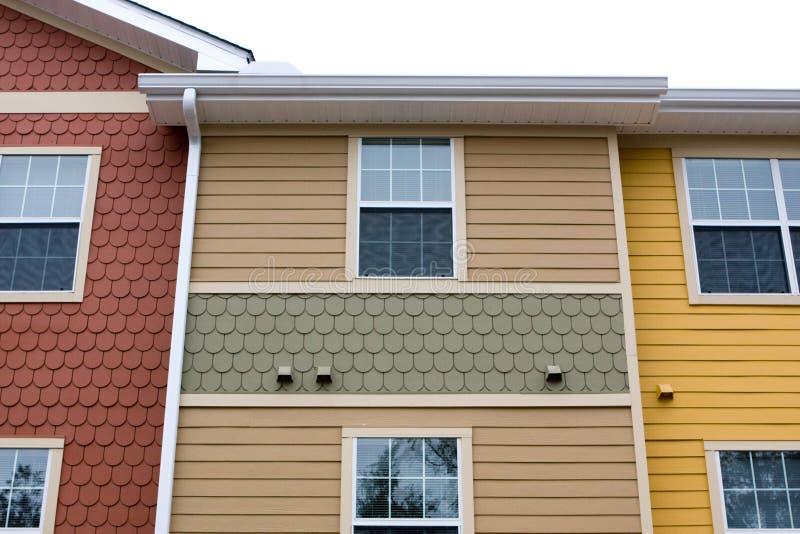 Download Projeto Da Fachada Do Apartamento Imagem de Stock - Imagem de construção, residência: 10061153