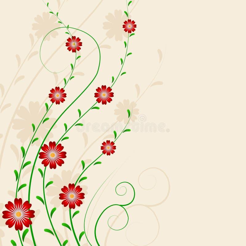 Projeto da flor ilustração do vetor