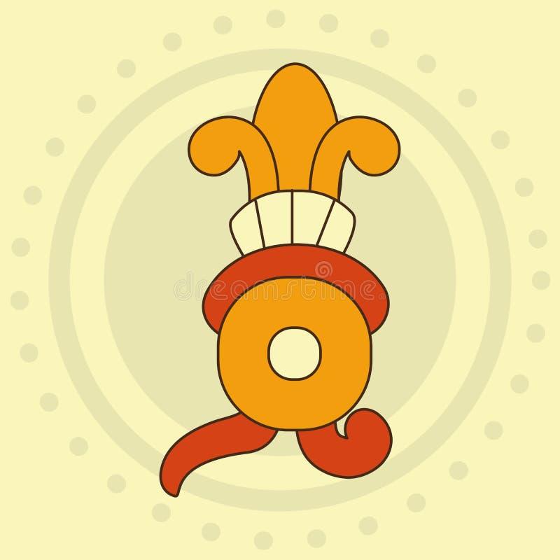 Projeto da forma do Maya ilustração do vetor