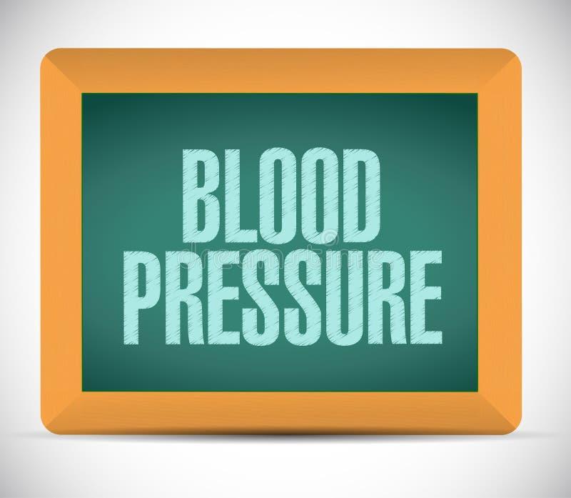 projeto da ilustração do sinal da pressão sanguínea ilustração stock
