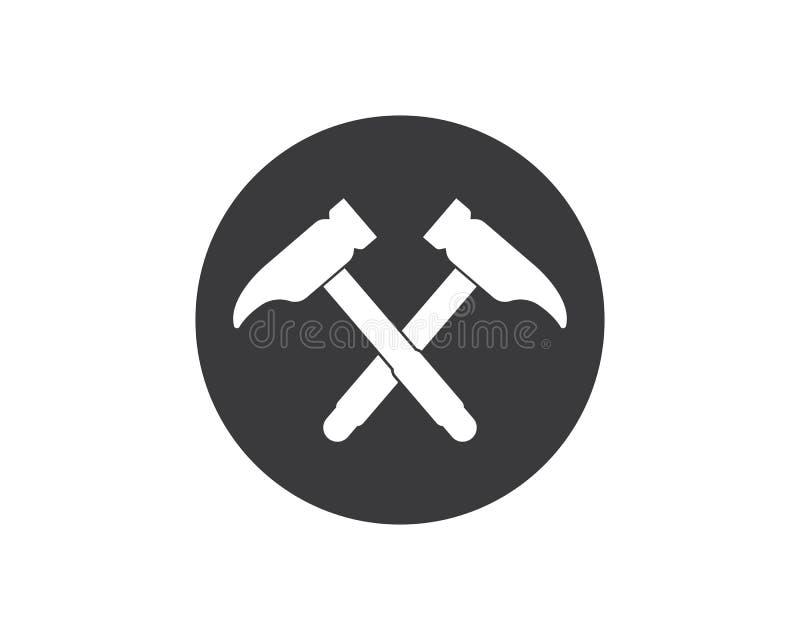 projeto da ilustração do vetor do logotipo do ícone do hummer ilustração royalty free