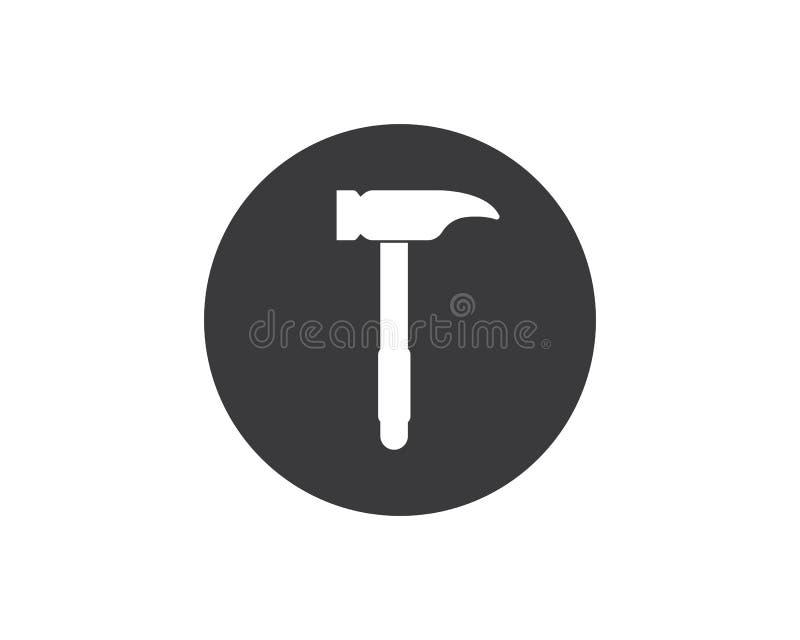 projeto da ilustração do vetor do logotipo do ícone do hummer ilustração stock