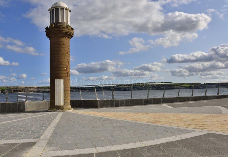 Projeto da margem da cidade escocesa histórica imagens de stock
