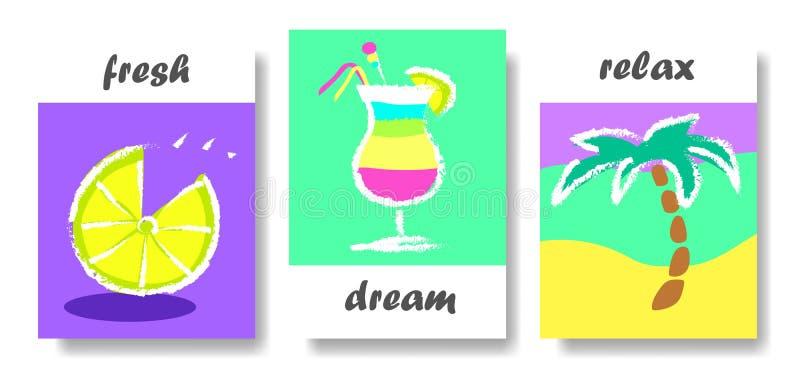 Projeto de cartão criativo ilustração do vetor