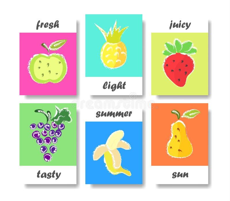 Projeto de cartão criativo ilustração royalty free