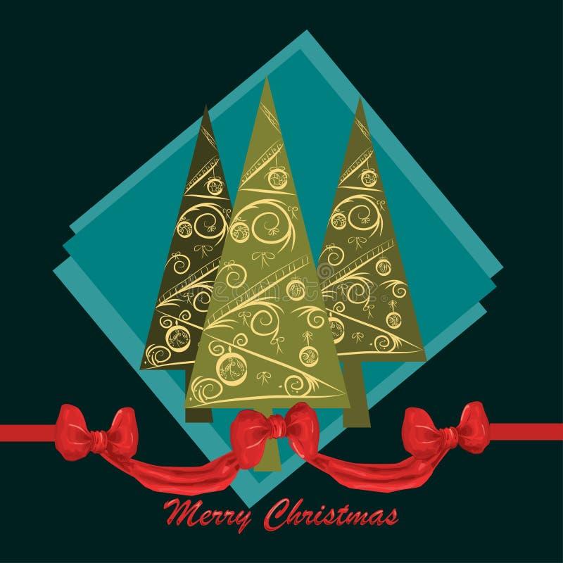 Download Projeto de cartão do Natal ilustração stock. Ilustração de cópia - 29841453