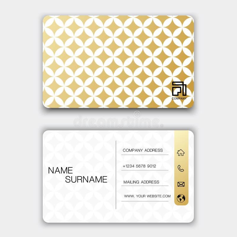 Projeto de cartão luxuoso Com inspira??o do sum?rio ilustração stock