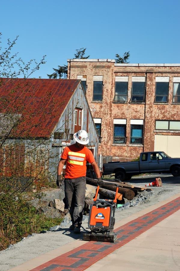 Projeto de construção em Sitka imagem de stock royalty free