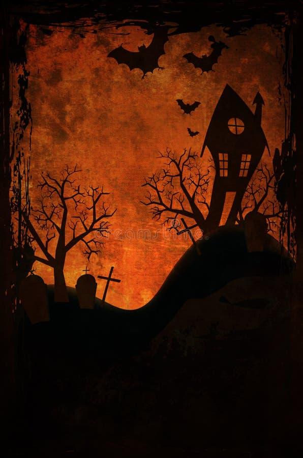 Projeto de Dia das Bruxas imagens de stock
